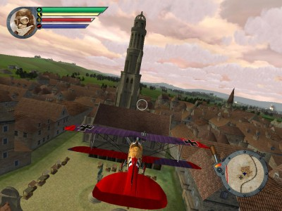 red baron flying game online free